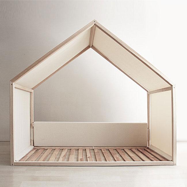 Montessori büyük yatak çepeçevre
