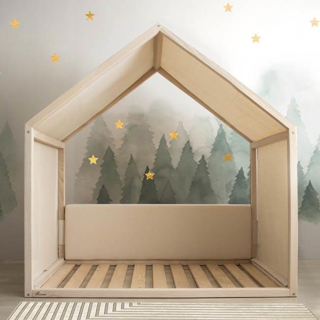 montessori yatak küçük çepeçevre