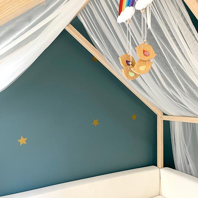 Montessori Yatak Çatı Tülü